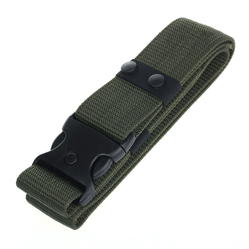 Mens Tactical Belt Military SWAT Equipment Nylon Waist Belts Army Soldier Carry Survival Combat Train Paintball Waistband