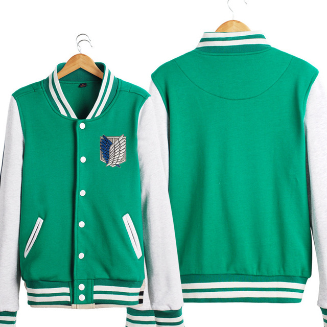 Attack on Titan Bomber Jacket Top Quality