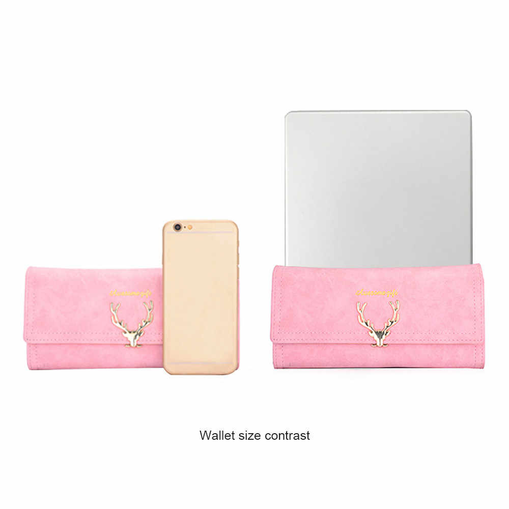2984f8737 ... Aelicy High Quality Wallet Women purse Capacity Fashion Long Wallet  Ladies Faux Suede Clutch Women Coin ...
