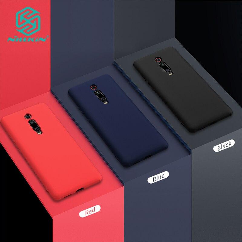 Caso Nillkin TPU para Xiao mi mi mi K20 9 T e Vermelho/K20 Pro Silicone Suave de Volta de Proteção capa Mole Cor Casos