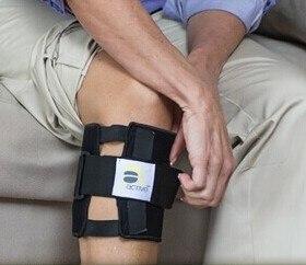 Image 2 - New Therapeutic Beactive Brace Point Pad Leg Black Presssure Brace Acupressure Sciatic Nerve