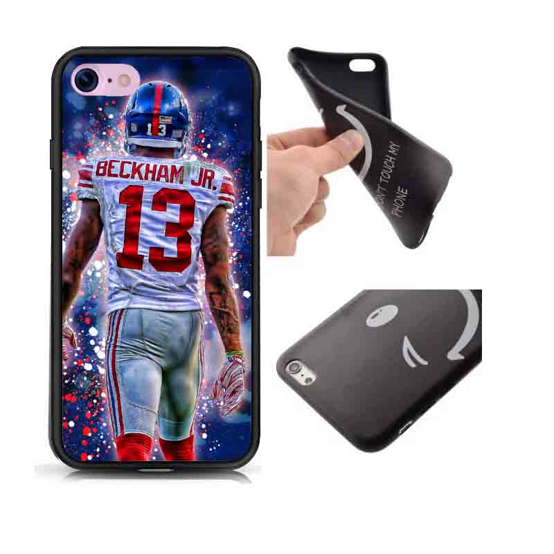 the latest 7d010 fb4d3 US $2.98 |Soft Black Silicone TPU New York Giants OBJ Odell Beckham Jr.  Case Cover For iPhone SE 5 5S 6 6S 6Plus 7 XR XS Max-in Phone Pouch from ...