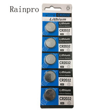 5PCS/LOT 3V CR2032 2032  Coin Cell Button Wholesale High Capacity Lithium Battery For Toys Remote/Watch