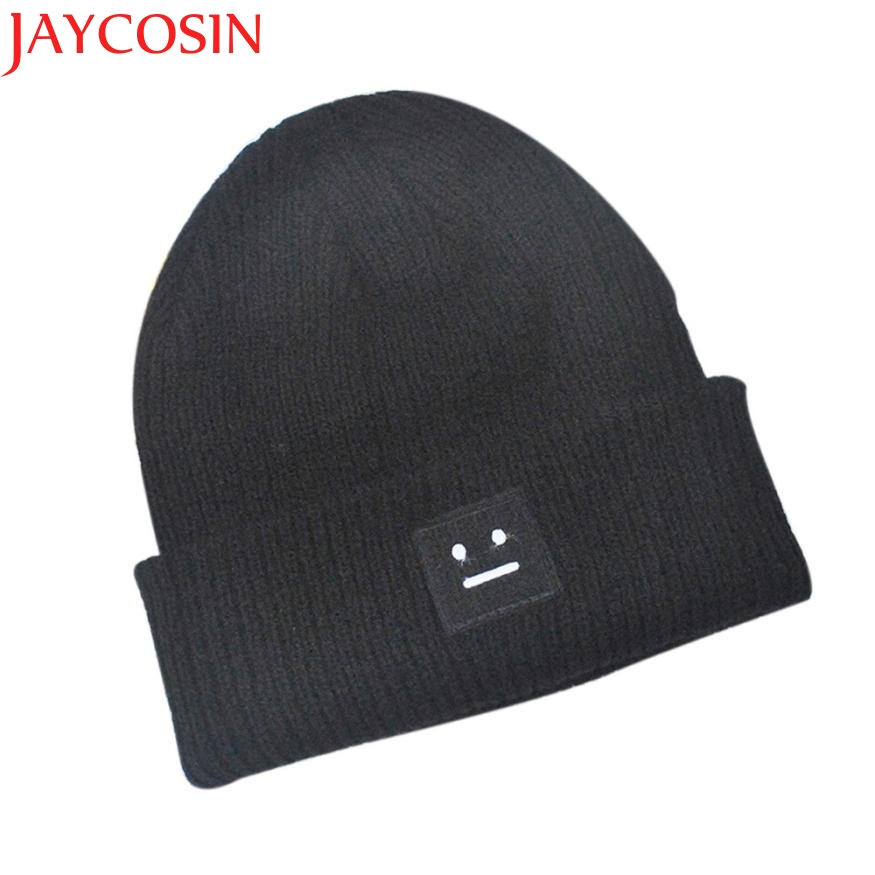JAYCOSIN Skullies Beanies Warm Winter Slouchy Baggy Knit Hat Cap Hip-hop Beanie Hats Women Men Spring Autumn Hat cap [jamont] love skullies women bandanas hip hop slouch beanie hats soft stretch beanies q3353