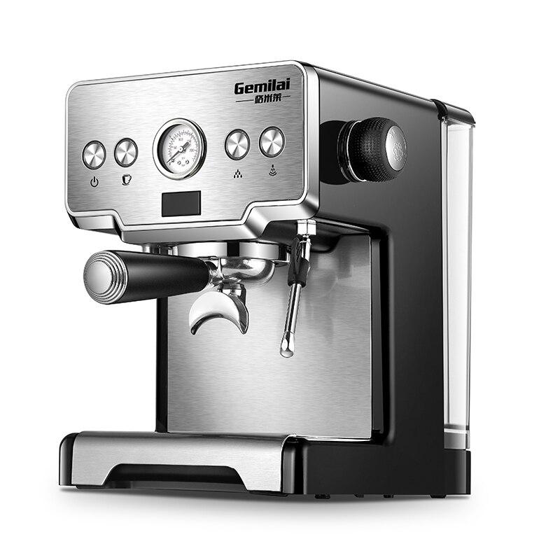 Máquina de café expreso, Cafetera de 15 Bar, Cafetera de vapor semiautomática, Cafetera de burbujas de leche CRM3605