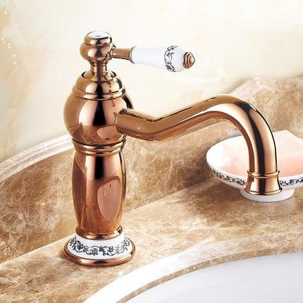 Free Shipping New Arrival Luxury Bathroom Basin Faucet Rose Gold finish Brass Mixer Tap With Ceramic Torneiras Banheiro M-14E царапки 2 пары жирафенок уго happybabydays 0506 500 hbg 0 3 мес коричневые