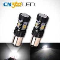 CN360 2PCS 950Lumens SMD3030 White 1157 BAY15D P21/5W Car LED Lamp DC 12V Auto Brake Light Led Bulb