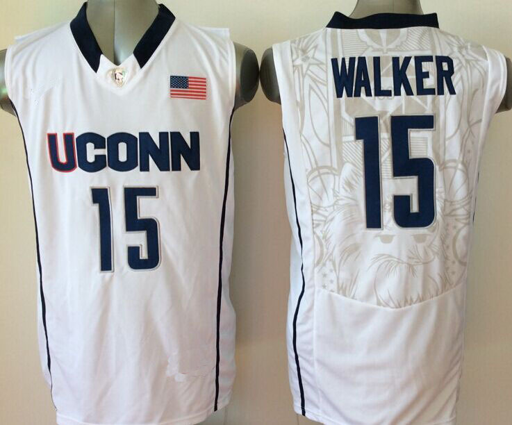 dc28c19a147a New Uconn Huskies 11 Ryan Boatright 15 Kemba Walker Blue White ...