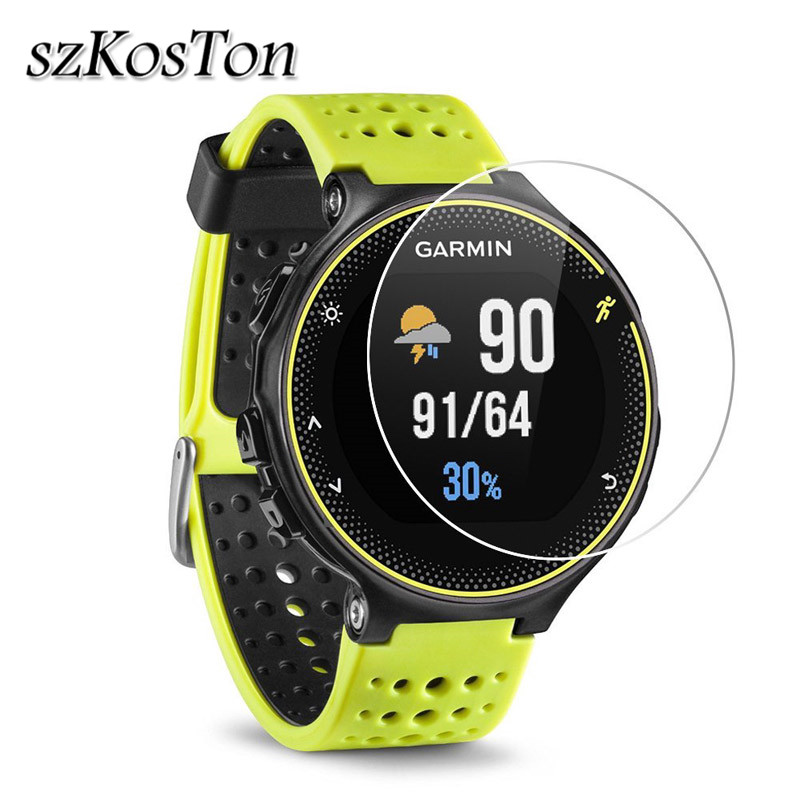 3Pcs/2pcs/1pc Tempered Glass Film For Garmin Forerunner 235 230 935 735 Glass Watch Screen Protector Protective Film Clear Guard