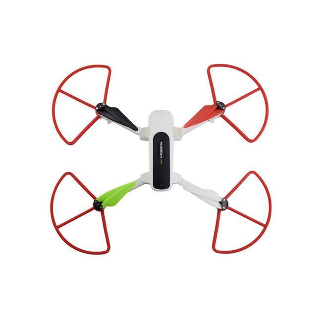 LeadingStar 4 pièces couvercle de dégagement rapide pour Hubsan Zino H117S quadrirotor accessoire anneau de Protection de Drone à distance