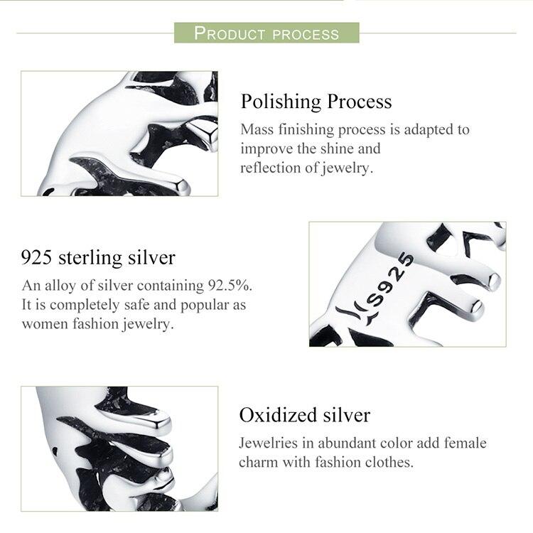 HTB1zCJ6r7SWBuNjSszdq6zeSpXaP BISAER Original 2019 925 Sterling Silver Vintage Ethnic elephant Animal Stackable Women Finger Rings Vintage Silver Bague GXR344