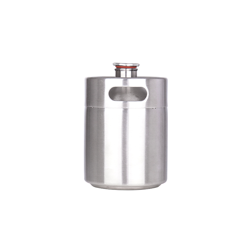 Image 2 - New arrived 304 Stainless Steel 5L/3.6L/2L Mini Keg Beer Growler Portable Beer Bottle Home Beer Making Bar Accessories Tool-in Other Bar Accessories from Home & Garden