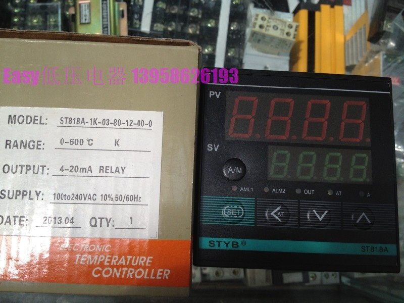STYB Wenzhou Instrument ST818A-1K-03-80-12-00-0 Temperature Controller 4-20mA output delta temperature controller series dte20r 4 output expansion%2