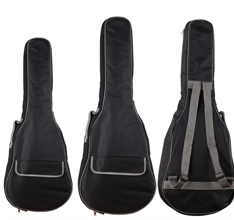 34 Inch 36 Inch Electric Travel Guitar Bag Soft Case with Double Straps Backpack Side Portable Handle Book Pocket 12mm waterproof soprano concert ukulele bag case backpack 23 24 26 inch ukelele beige mini guitar accessories gig pu leather