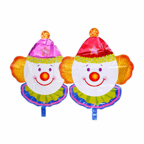 1 قطعة احباط الهواء بالونات كبيرة الحجم السيرك مهرج شكل عيد ميلاد سعيد حفل زفاف عيد الميلاد لوازم الديكور بالون الاطفال