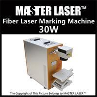 Lower Price 30W Fiber Portable Mini Laser Metal Engraving Machine