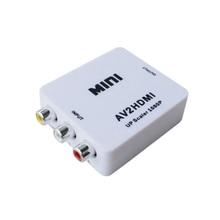 AV adapter konverter mini AV zu HDMI HD konverter adapter konverter audio video kabel CVBS für HDTV mit USB kabel