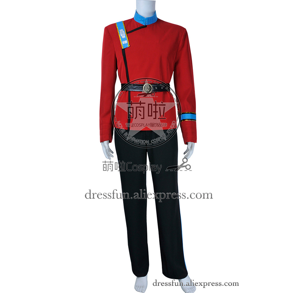 star trek wrath of khan cosplay chekov mccoy uhura costume new uniform outfits suit halloween fashion party fast shipping - Uhura Halloween Costume