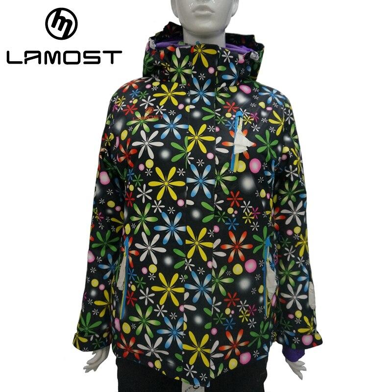Prix pour Lamost filles ski veste imperméable à l'eau en plein air sport étanche enfants ski veste épais chaud ski manteau vêtements de ski respirant