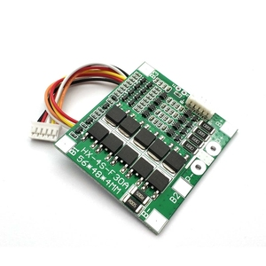 Image 3 - 4S 30A 14.8V Li ion Lithium 18650 Battery BMS Packs PCB Protection Board Balance Integrated Circuits Electronic Module
