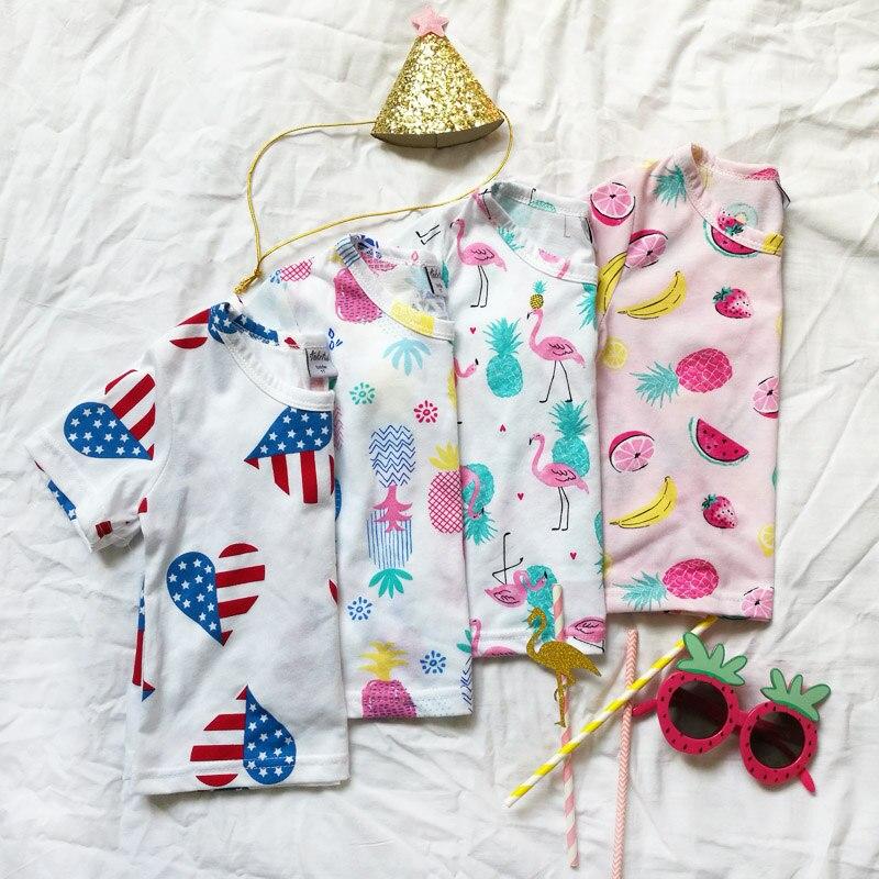 18 nuevas camisetas de manga corta de algodón para niños llenas de - Ropa de ninos