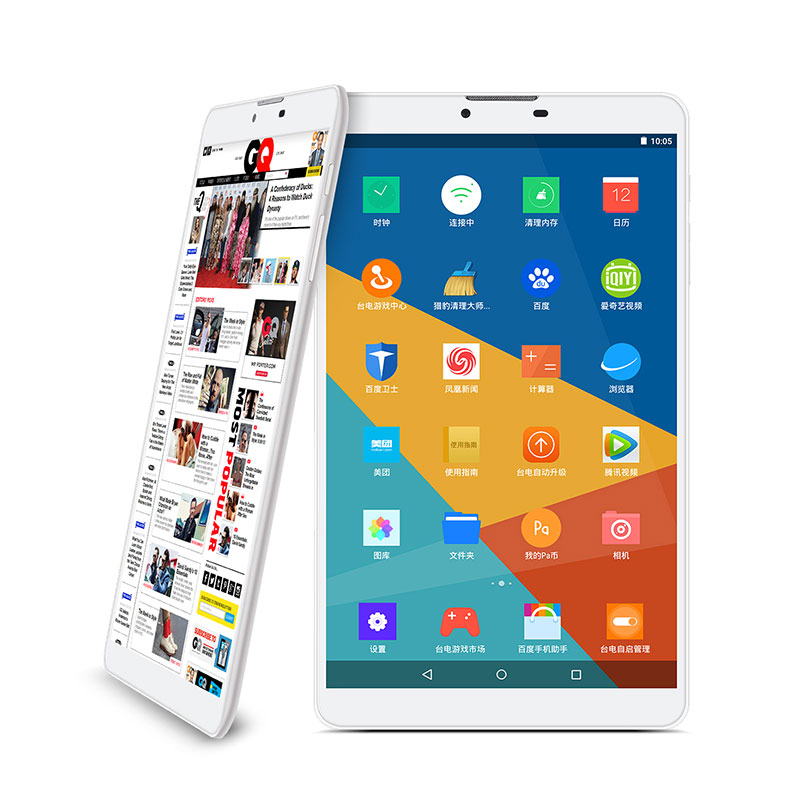 In Stock 8 IPS Screen Android 5.1MTK8735 64bit Quad Core 16GB 3G Phone tablet WCDMA Tablet PC with GPS Bluetooth Teclast P80 4g in stock teclast x70r 7 ips screen android 5 1sofia x3 c3230 64 bits 8gb 3g phone tablet wcdma tablet pcs with gps bluetooth