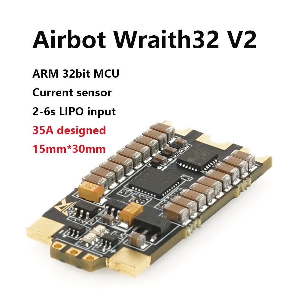 AIRBOT-Wraith32 V2-32bit فرش Blheli_s 35a Blheli_s32 Dshot1200 - ألعاب التحكم عن بعد