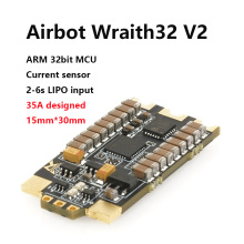 AIRBOT-Wraith32 V2-32bit Brushless Blheli_s 35a Blheli_s32 Dshot1200 Built Current Sensor Brushed esc 30a For Fpv Quadcopter lhi 4pcs wraith32 32bit 35a blheli