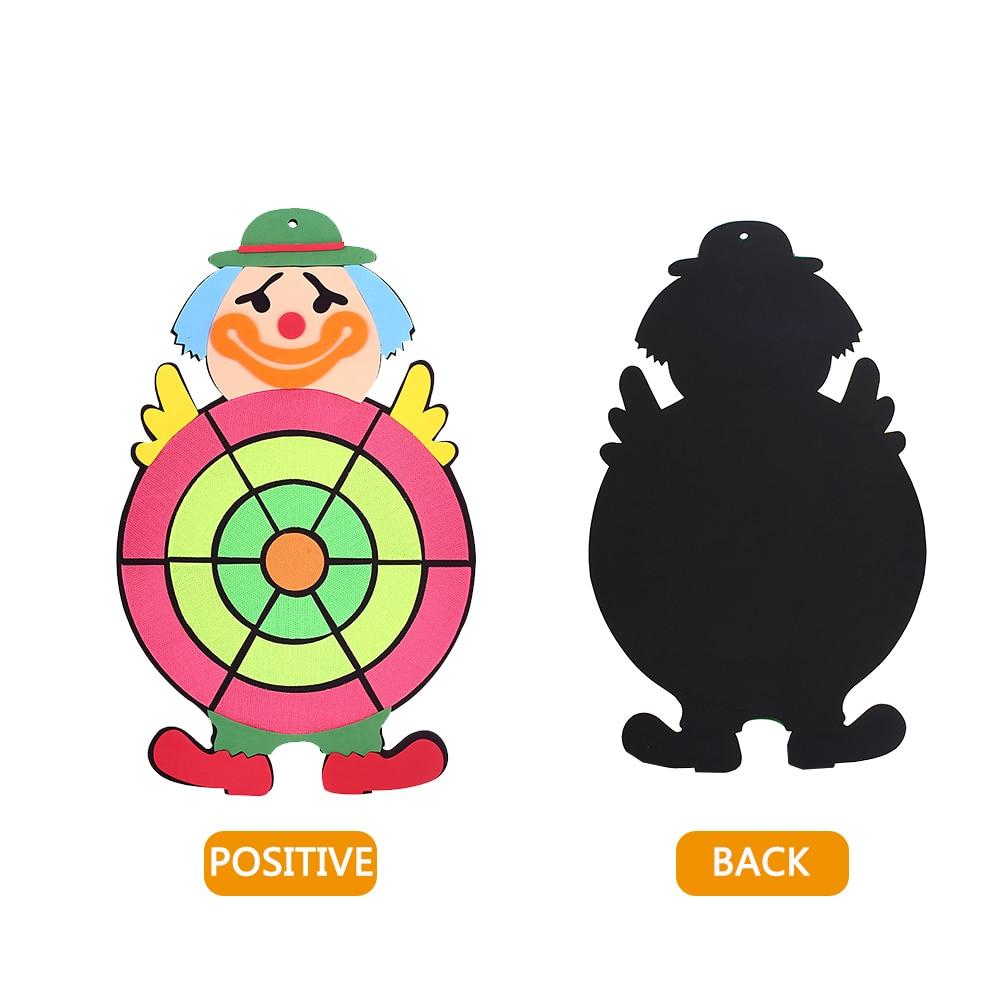 Пена мультфильм Дартс клоун Дартс коллекция развлечения сильная стена упражнения расслабить опасный Дартс комплект Прохладный бросать цель