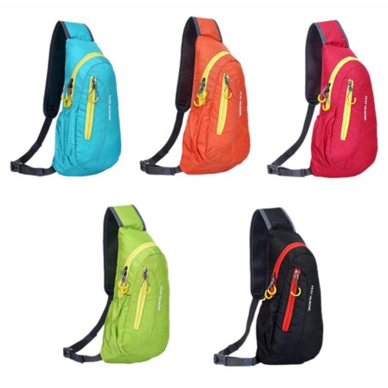 Outdoor 12L Waterproof Sport Bag Camping Hiking Bag Diagonal Package Chest Sport Bags Backpack