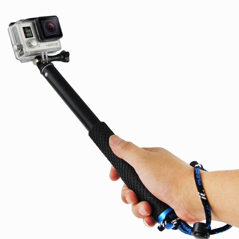 action camera pov pola 37 surfing diving extendable go pro self selfie stick. Black Bedroom Furniture Sets. Home Design Ideas