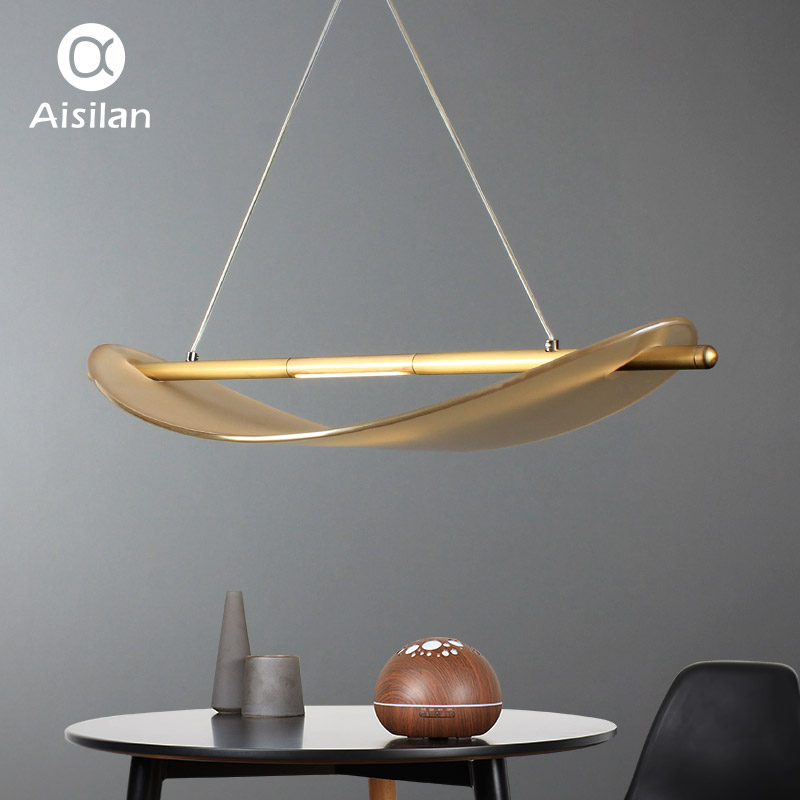 Aisilan светодио дный светодиодный подвесной светильник скандинавский одиночный стеклянный подвесной светильник для чтения, гостиной и столо...