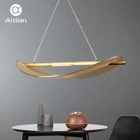 Aisilan светодио дный светодиодный подвесной светильник скандинавский одиночный стеклянный подвесной светильник для чтения, гостиной и столо