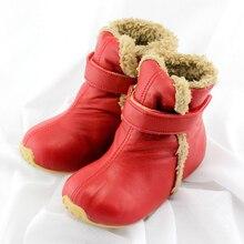 TipsieToes Top Qualité En Cuir Véritable Laine Enfants Chaussures Pour Garçons Et Filles Enfants Automne Hiver Chaud Bottes 64001 Livraison gratuite