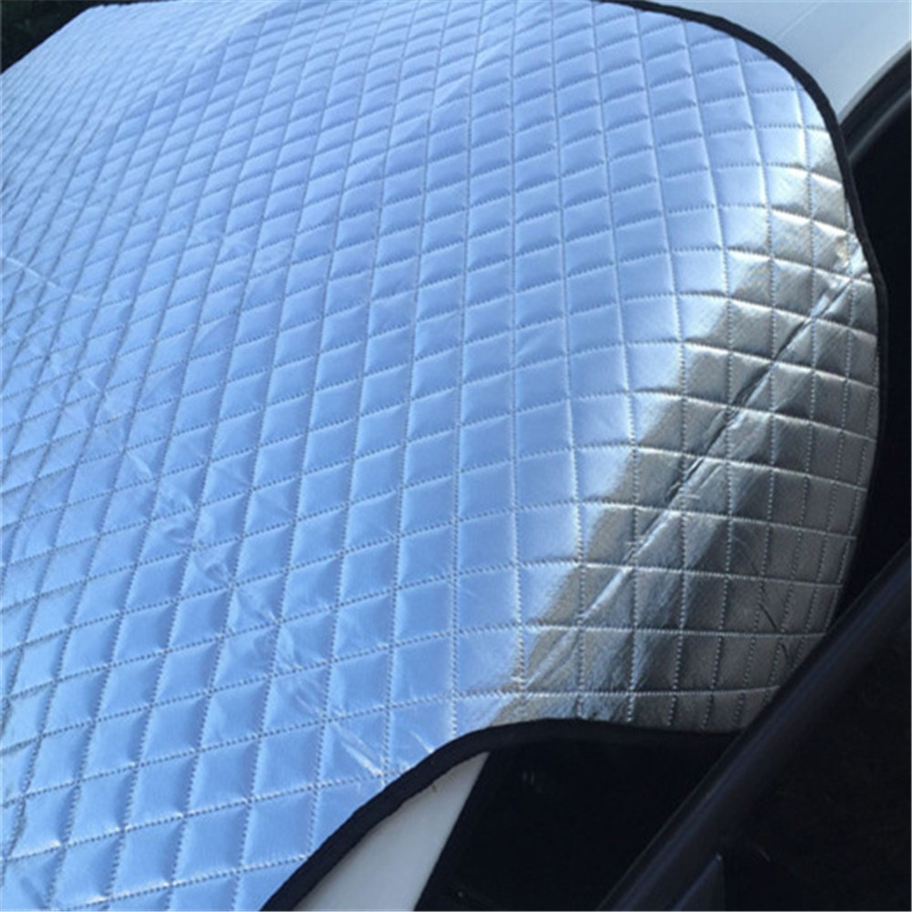 Car Sun Shade Windshield Snow Cover Protector Aluminum Foil Windscreen Winter Ice Rain Frost Guard Automotive Cover