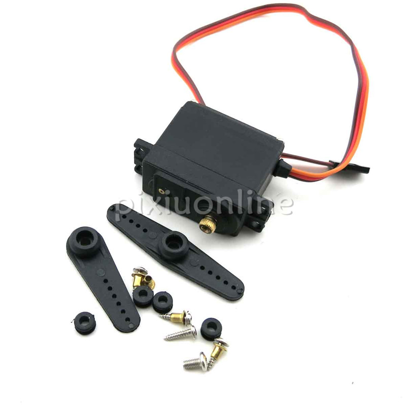 MG995 J229b Servo Motor DIY Metal Gear Servo Motor High Torque Model Car Transfer Arm RC Boat Sell at a Loss Spain France new spring rc sm s4315m all metal gear 15kg servo for rc car boat robot high torque dual ball bearing 15kg rc parts 1 jt fci