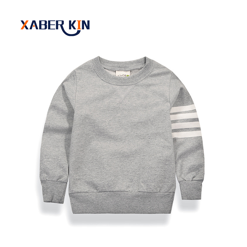 Xaber Kin New 2017 Children's Sweatshirt 2-10 Years Kids Hoodies For Girls&Boys Cotton Baby Kids Clothes Hoodies For Boys