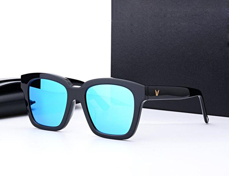 GENTLE napszemüveg négyzet alakú keret Az álmodozó polarizált vezetési napszemüveg Vintage férfi nők Az eredeti csomagolással Oculos De Sol