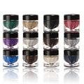 Music Flower Eye makeup tools Shadow Gel Mineral Texture Eyeshadow Cream Shimmer Metallic Glow Palette 12 Colors