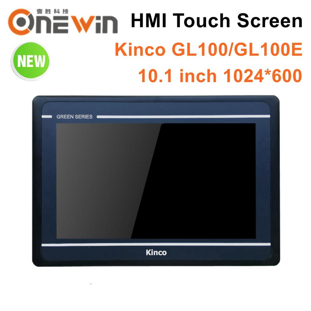Kinco GL100 GL100E HMI Touch Screen 10 1 inch 1024 600 Ethernet 1 USB Host new