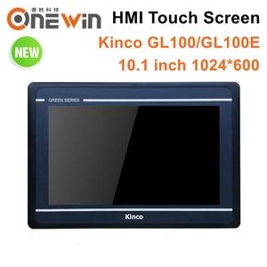 Image 1 - Kinco GL100 GL100E HMI Touch Screen 10.1 inch 1024*600 Ethernet 1 USB Host new Human Machine Interface RS232 RS422 RS485