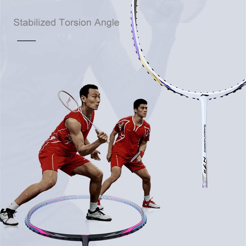 Li-ning N9II Sudirman coupe Fu Haifeng raquettes de Badminton professionnel haut de gamme Li Ning AYPL178 Top qualité L851OLA