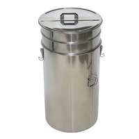 High Quality Beekeeping Equipment From China Double Filter Net Honey Bucket (201 Flat Cover) For Sales