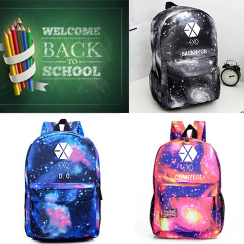 Home Rational Mainlead Kpop Exo Backpack Exact Bag Bookbag Student Back To School Planet #3 Exordium To Prevent And Cure Diseases
