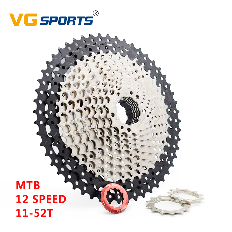 Sporting Goods Cycling Vg 12 Speed 11-52t Mtb Bicycle Flywheel Bike Cassette Cycling Fits Shimano Sram