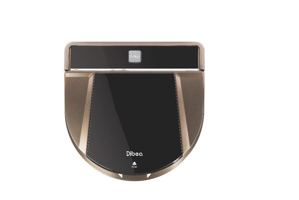 Dibea D900 Robot Vacuum Cleaner House <font><b>Carpet</b></font> Floor Anti Collision Anti Fall, Self Charge, Remote Control, Auto Clean