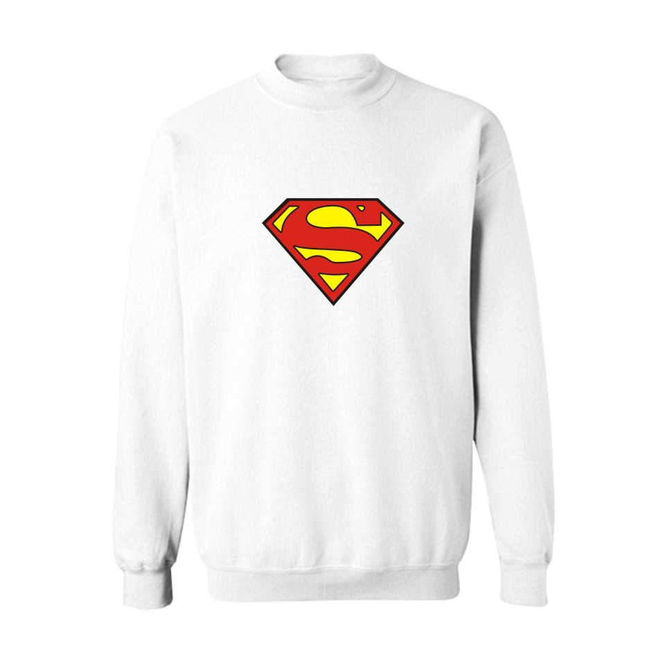 Men's Clothing Impartial Sweatshirts Superman Logo Harajuku Print Boys/girls Batman Heren Autumn Winter Casual Hiphop Confortable Couples O-neck Clothes Save 50-70%