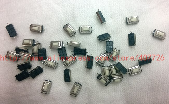 Promotion 50pcs/lot SMT 3x6x2.5MM 2PIN Tactile Tact Push Button Micro Switch Self-reset Momentary 1pc metal button switch 10mm hole 2a 250vdc reset no locking momentary self locking 2pin soldering ip65