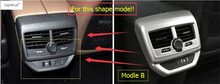 Интимные аксессуары для Peugeot 3008 3008gt 2017 2018 подлокотник коробка сзади Кондиционер ac Vent Выход литья комилект отделка цельнокроеное платье
