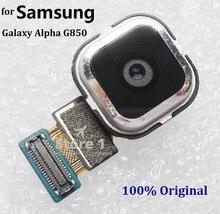 Оригинал 12 М Пикселей Вернуться Задний Модуль Камеры на Замену для Samsung Galaxy Альфа G850